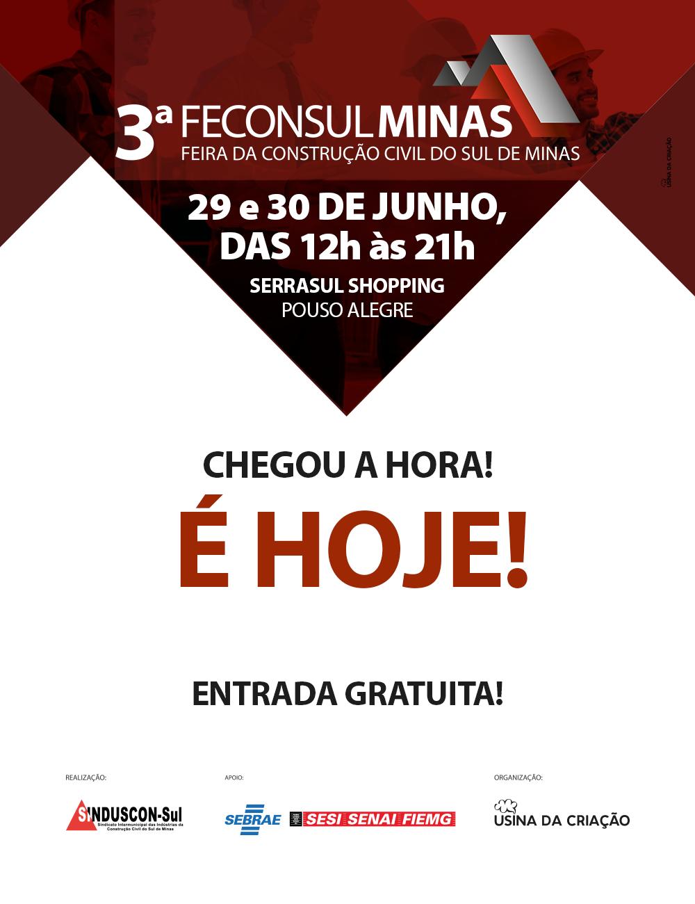 3ª Feconsulminas - Feira da Construção Civil do Sul de Minas