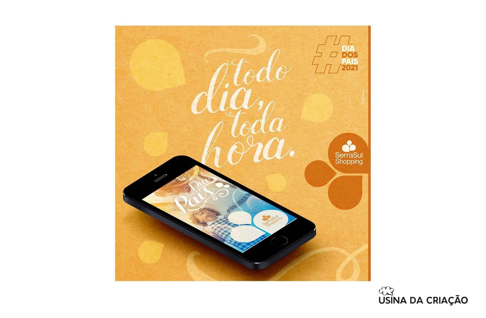 Campanha de Dia dos Pais 2021 - SerraSul Shopping
