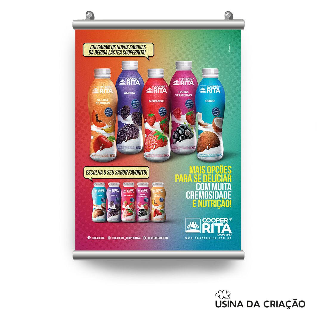 Campanha de Lançamento de Bebidas Lácteas - CooperRita