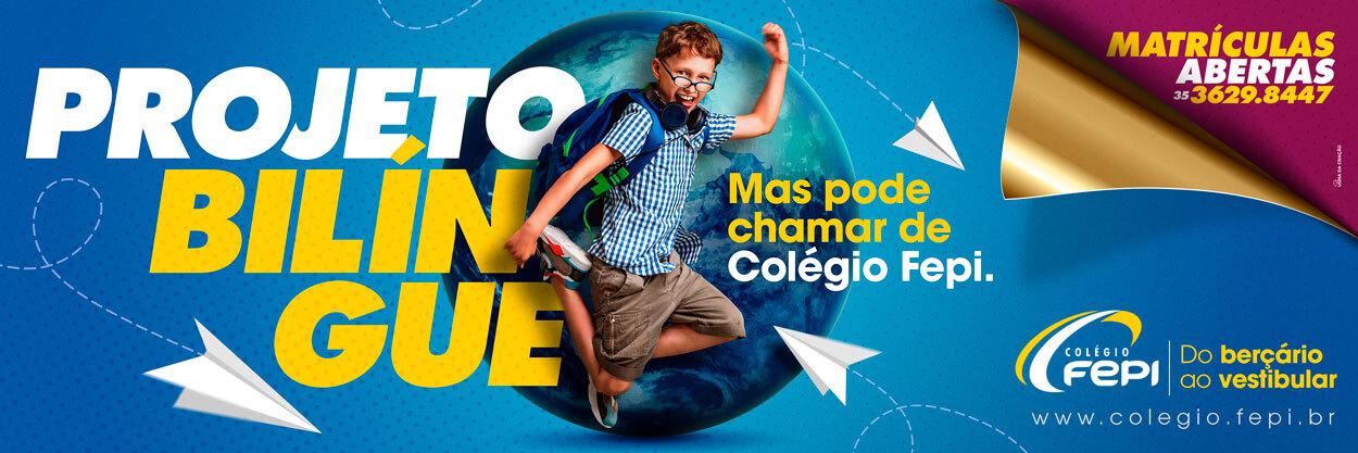 Campanha Institucional - Outdoor - Colégio FEPI