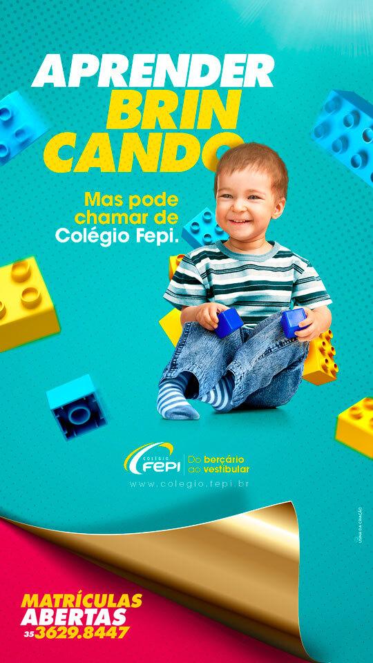 Campanha Institucional - Stories - Colégio FEPI