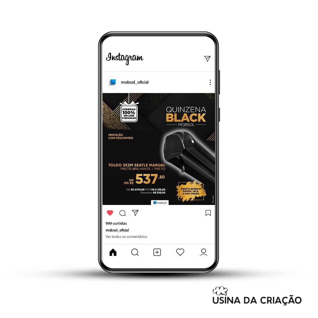 Campanha Quinzena Black- Mobsol