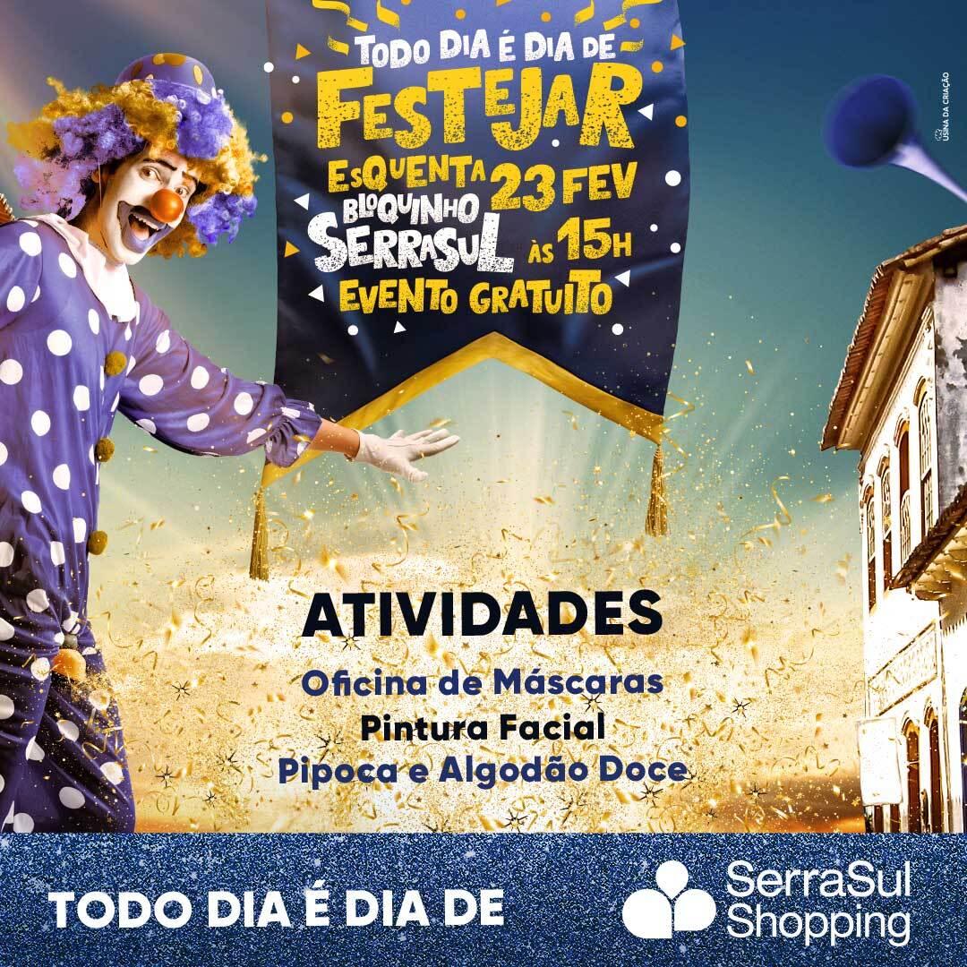 Carnaval 2020 - SerraSul Shopping