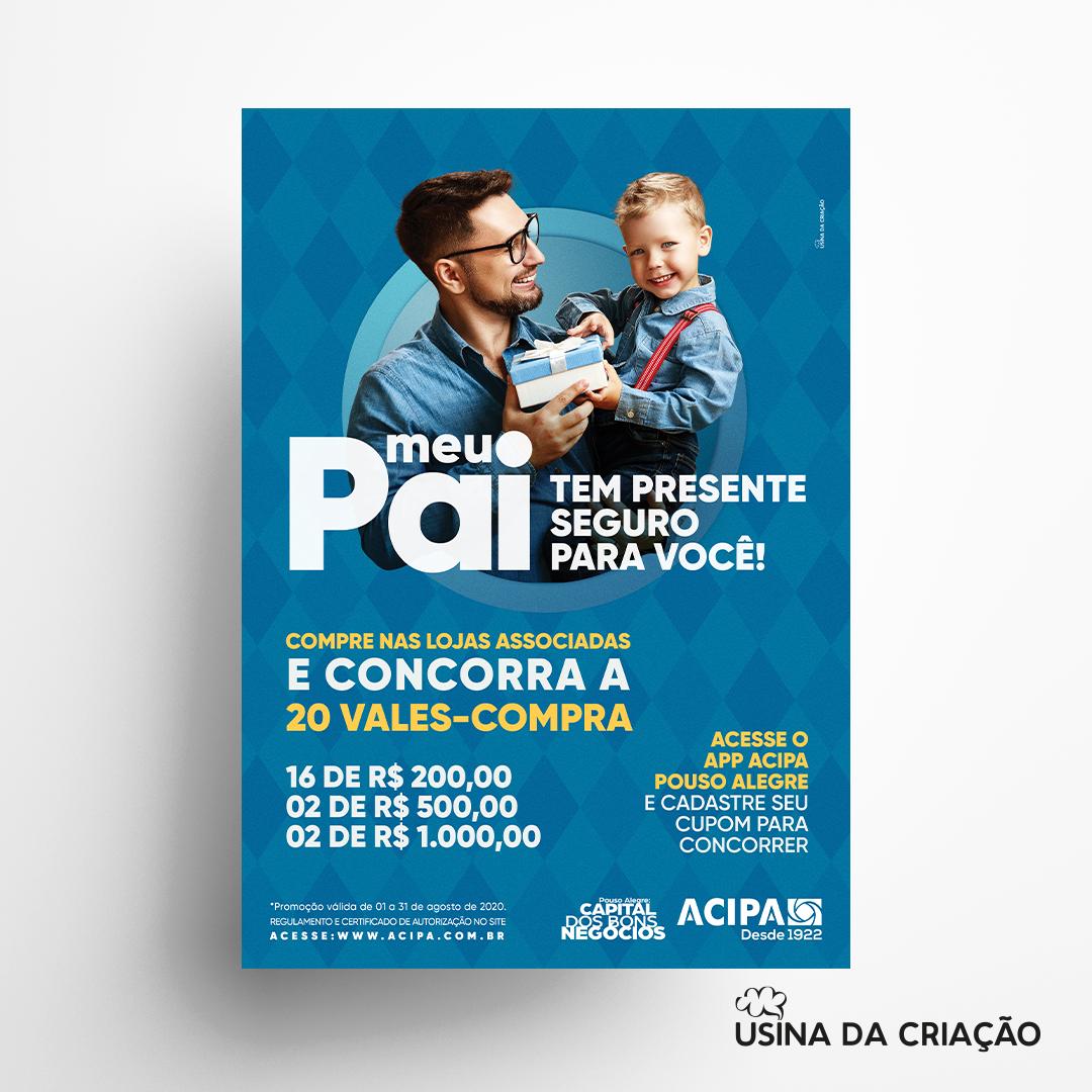 Campanha Dia dos Pais 2020- Acipa