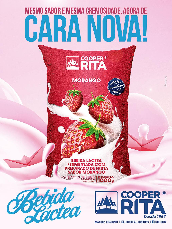 Banner - Nova embalagem bebida láctea - CooperRita