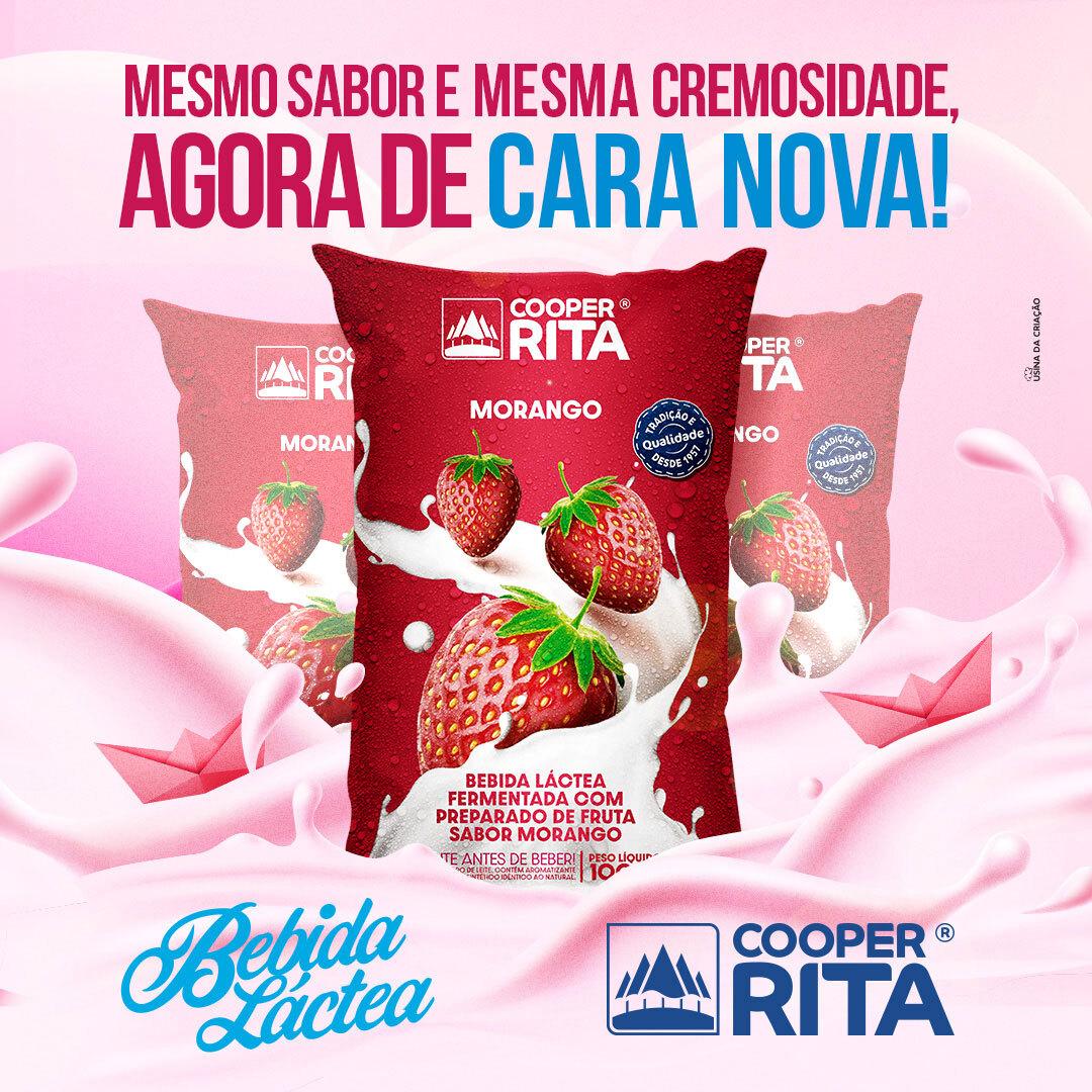 Post - Nova embalagem bebida láctea - CooperRita