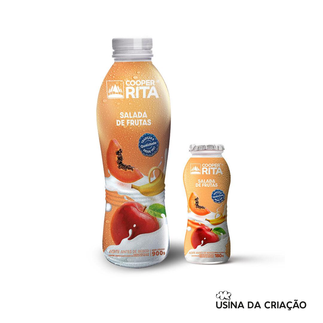 Novas Embalagens de Bebidas Lácteas de Garrafa - CooperRita