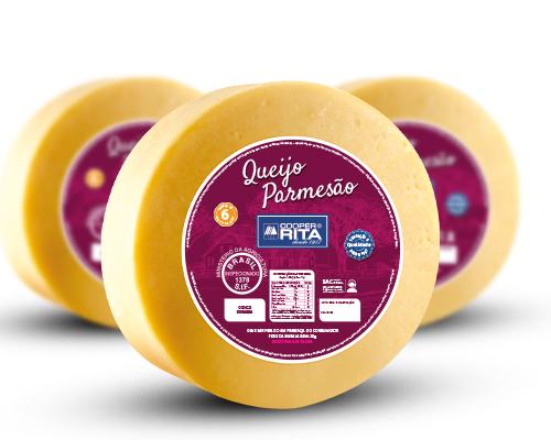 Novas embalagens dos queijos CooperRita
