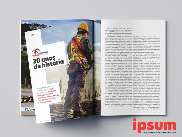 Revista Ipsum - Sinduscon-Sul